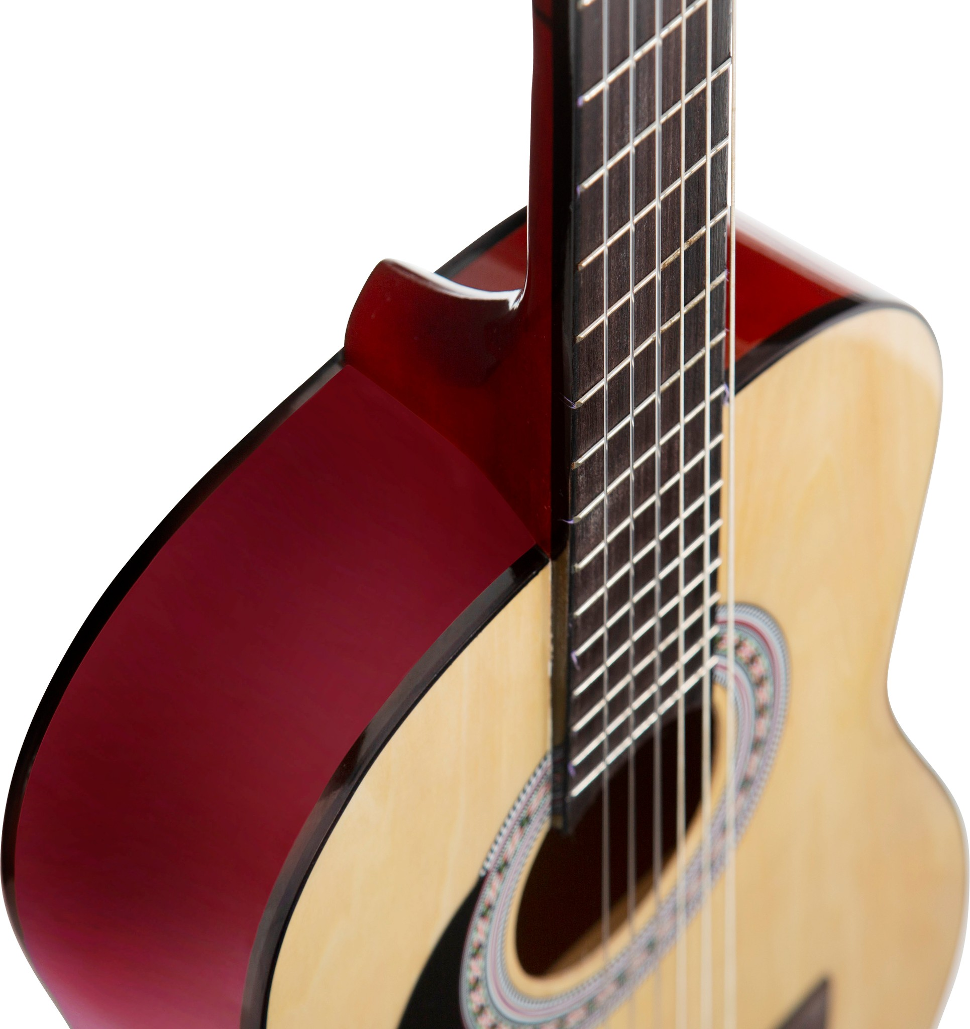 Details about Stretton Payne LEFT HANDED Children's 3/4 Size, Nylon String  Classical Guitar