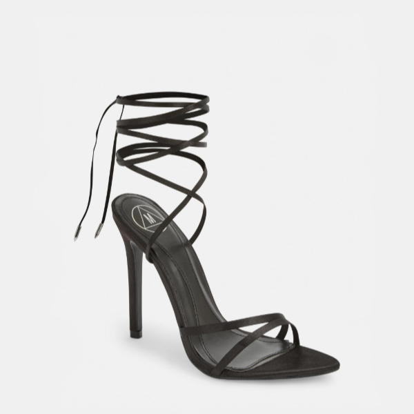Missguided Black Clear Block Heel Mules from Missguided (US & Canada)   People