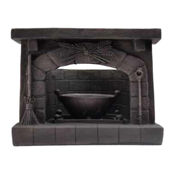 Antiqued Hearth Fireplace Kettle Cauldron Tealight or Votive 7& ...