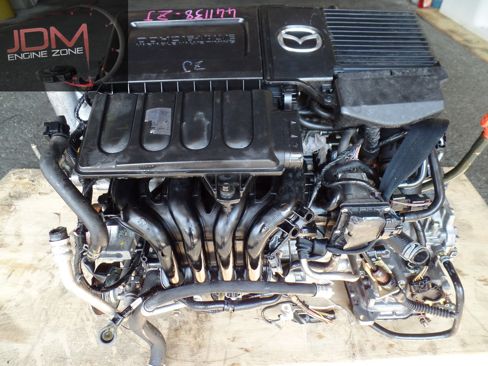 o engine jdm replament mazda video de lf
