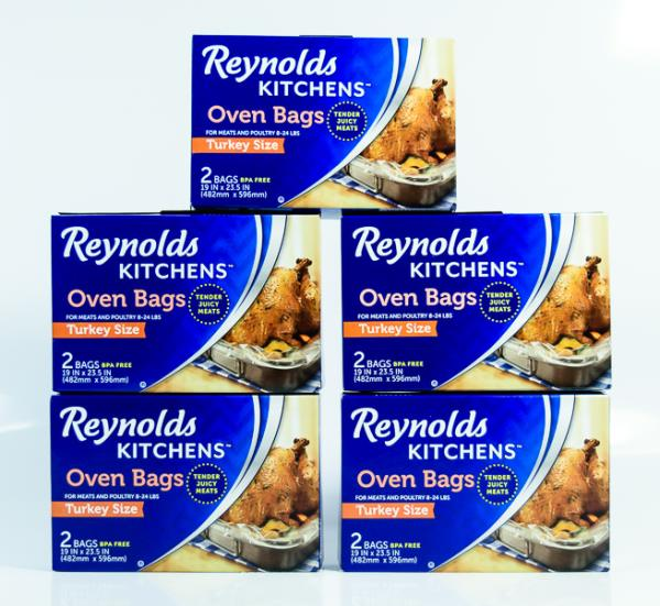 Details about 5 Box Reynolds Kitchens Oven Bags (10 bags) Turkey Size Meats  & Poultry 8-24 lbs