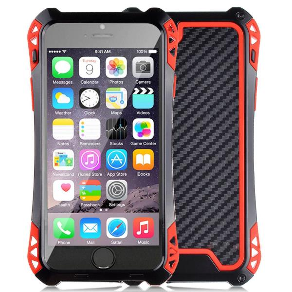 huge selection of 1e228 57ae6 Details about Outdoor Metal Glass gorilla Water Res Impact Case Cover for  iPhone 6, 6 plus USA
