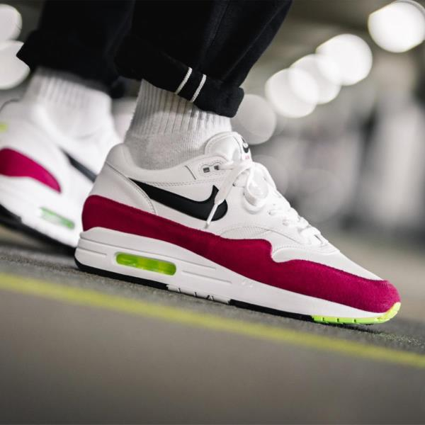 free shipping b7f94 35524 Details about Nike Air Max 1 Red Size 8 9 10 11 12 Mens Shoes AH8145-111  Force Vapor