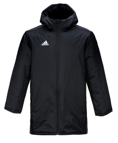 58dad9269a3a3 Adidas Men Core 18 Stadium Down Padded Jacket Winter Black GYM Parka ...
