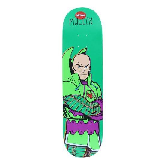 Almost Skateboard Deck Mullen Lex Luthor 8 R7 FREE GRIP FREE POST New
