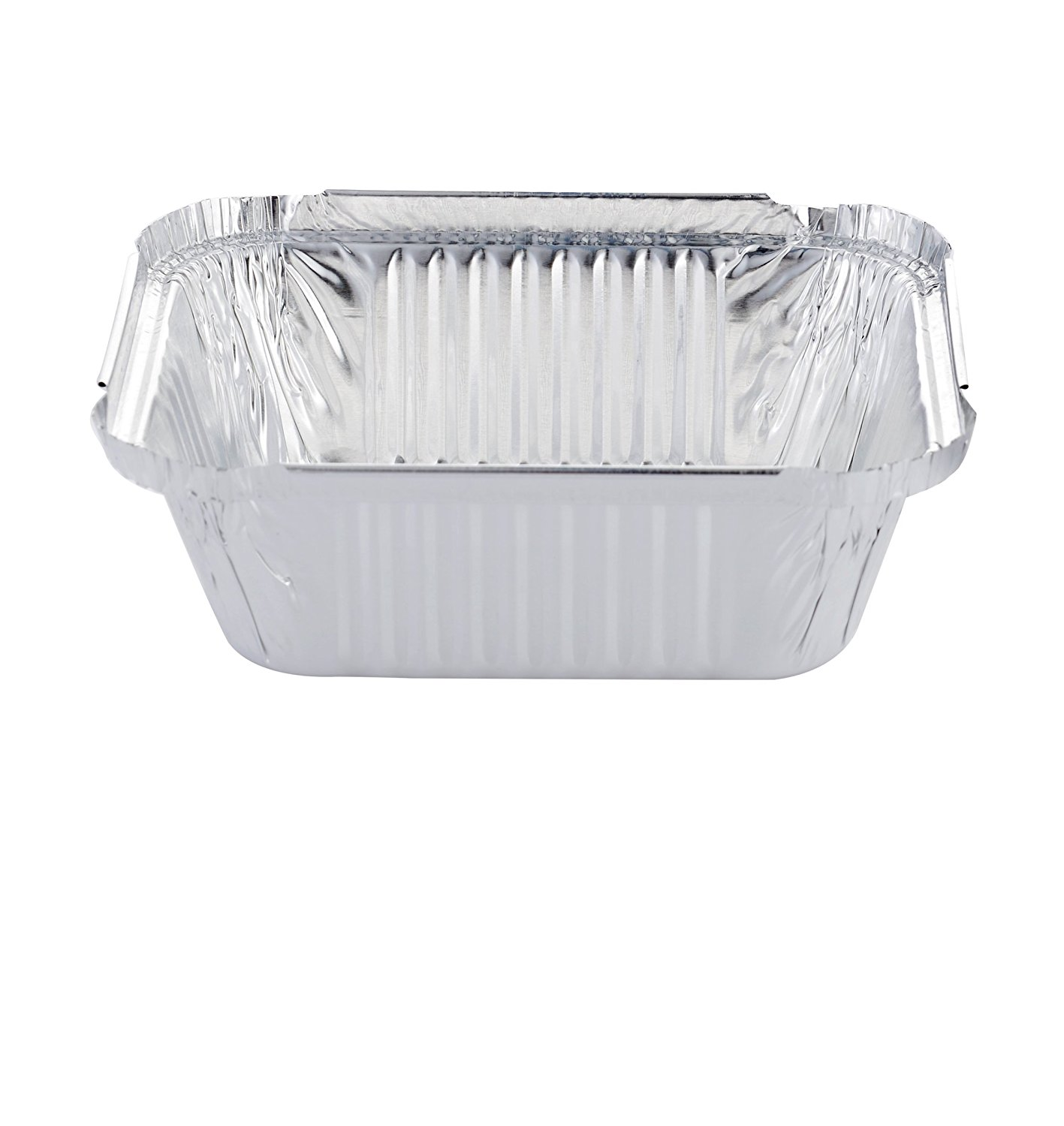 120 X Aluminium Foil Trays With Lid Disposable Food