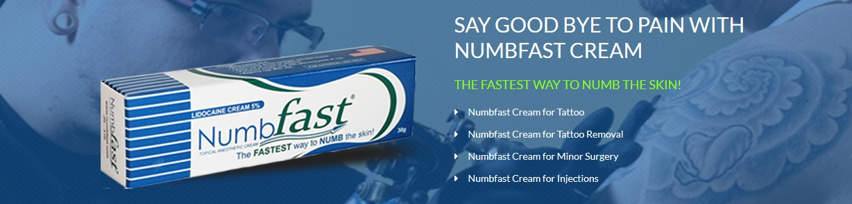 Details about NumbFast numbing cream tattoo piercing waxing laser injection  shot microblading