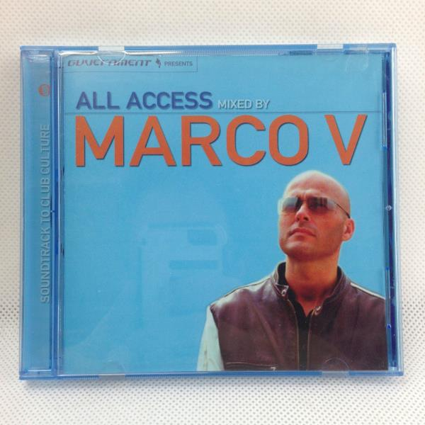 Marco V All Access Mix- 1 CD Various Artists Dance Music