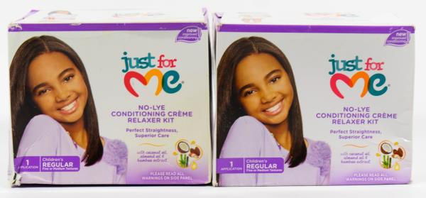 5093c061e Details about 2 Just For Me Children's No-Lye Conditioning CREME Relaxer -  Children's REGULAR