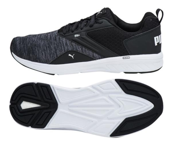 90a6bbe01712 PUMA Men Nrgy Comet Soft Training Shoes Black Running Sneakers Shoe ...