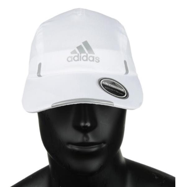 reputable site 92fbb fd455 Details about Adidas Men Climacool Running Caps Baseball Hat Golf White  OSFM Hat Cap S99769