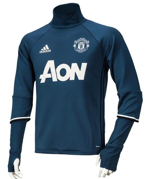 8901dc280aec NWT Adidas Men MUFC Manchester United Top Jersey L S Tee Soccer ...