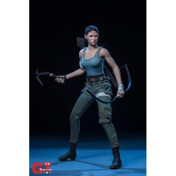 KUMIK outfit2 Tomb Raider Lara Croft 1//6 Female Clothing Set SHIP FROM USA