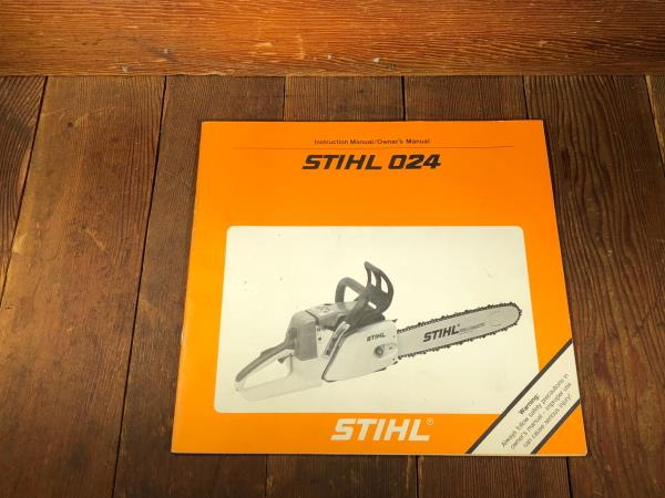 Details about STIHL OEM NEW NOS 024 AV Owners Instruction Manual Parts List  Diagram
