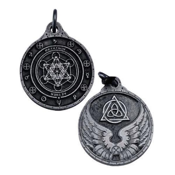 Metatron kabbalistic talisman medallion archangel sigil 18 pendant helps us discover the value of our actions and realize our ability to love and be loved helps evaluate what to give and keep and define our limits to aloadofball Gallery