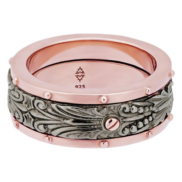 Luxo Jewelry News Letter - Premium Jewelry - Stephen Webster 925 Sterling Silver London calling spinner Ring Size 10 »$325