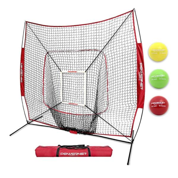 PowerNet Pitching Bundle Practice Net Pitch Perfect Pitching Targets Strike Zone