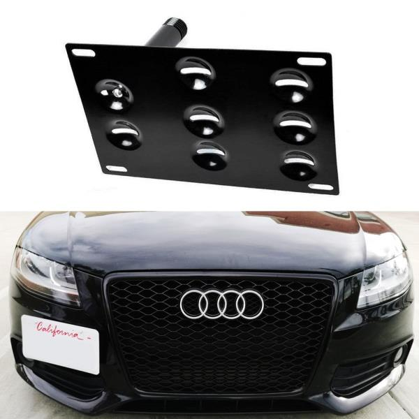 Bumper Tow Hook License Plate Mounting Bracket For Audi A4 A5 S4 S5 ...
