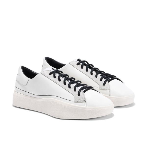 614b8186c Adidas Y-3 Tangutsu Lace Sneakers White Size 8 9 10 11 12 Mens NMD ...