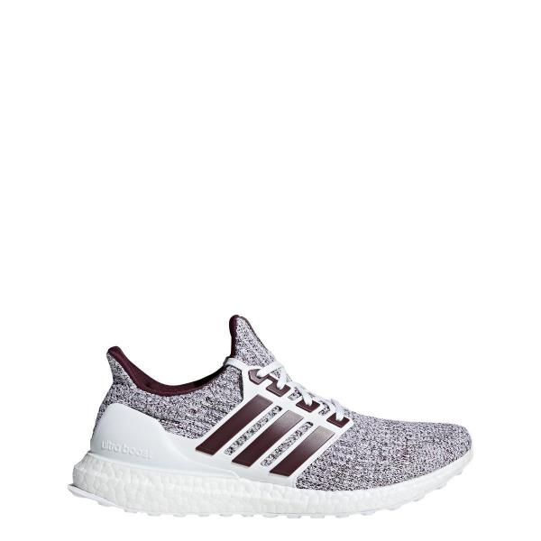 newest collection c1125 77e55  EE3705  Mens Adidas UltraBOOST - Cloud White Maroon - Texas A M