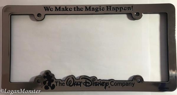 Walt Disney Company Cast Member License Plate We Make The Magic