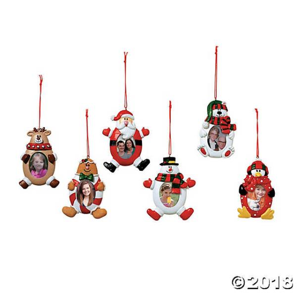 Christmas Character Picture Frame Christmas Ornaments Ebay
