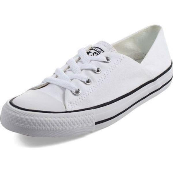 Details about Converse Coral Ox White Low Top Women's Fashion Shoes 555901F