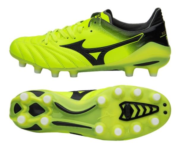 b2400d7d2b7 Mizuno Men Morelia Neo II MD Cleats Soccer Lime Football Shoes Spike ...