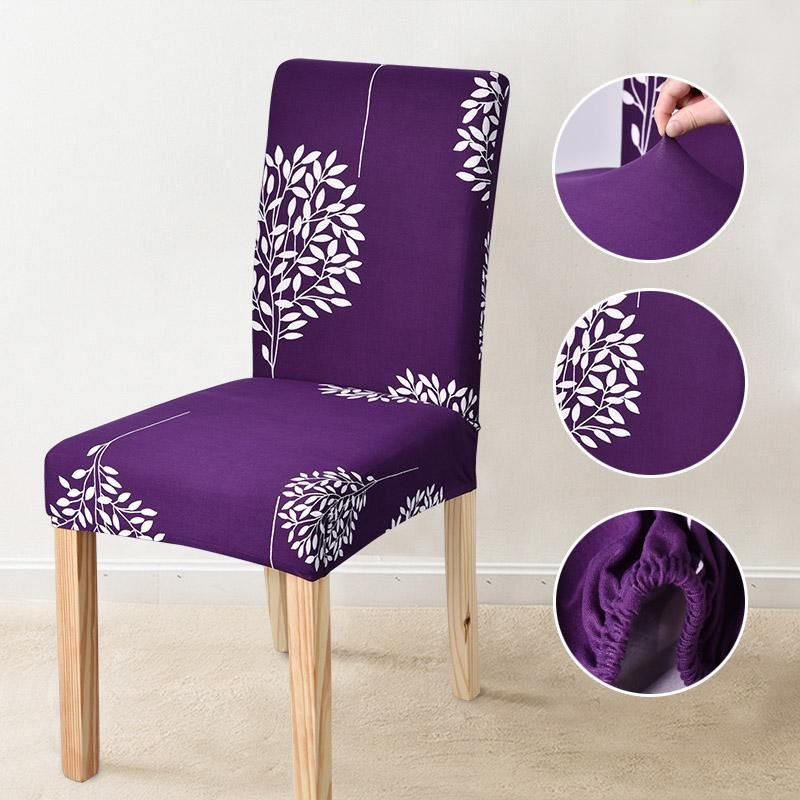 Astonishing Details About Floral Print Blue Flower Chair Cover Home Dining Chair Covers Multifunctional Sp Short Links Chair Design For Home Short Linksinfo