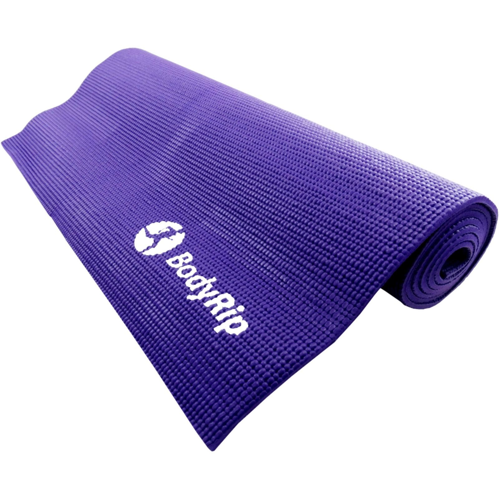 Good Workout Mat: Yoga Pilates Fitness Gymnastic Mats 6mm Workout Gym