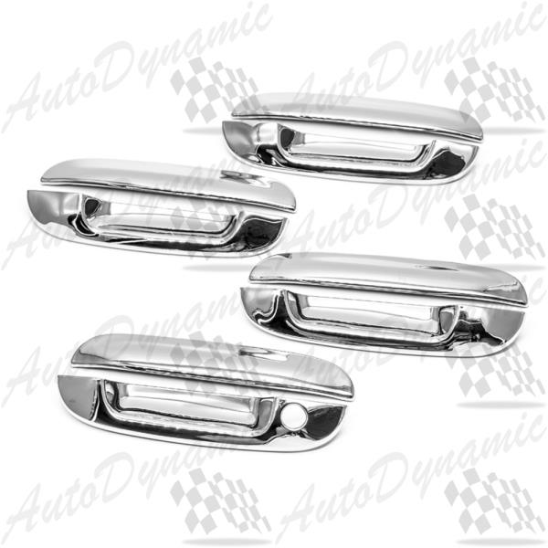For 2000 2001 2002 2003 2004 2005 Cadillac Deville Chrome Door Handle Covers