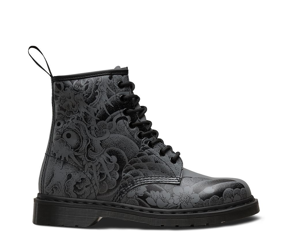 bd634d8527 The 1460 is the original Dr. Martens boot. The boot's instantly  recognizable DNA looks like this: 8 eyes, a heel-loop, yellow stitching,  and a comfortable ...