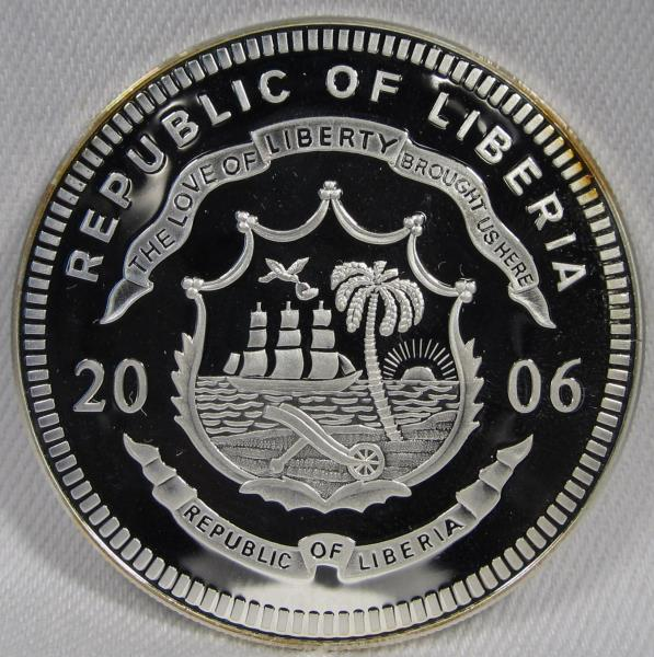 prohibition limited Edition Moderate Price Responsible Republic Of Liberia $20 Proof Silver Coin .999-