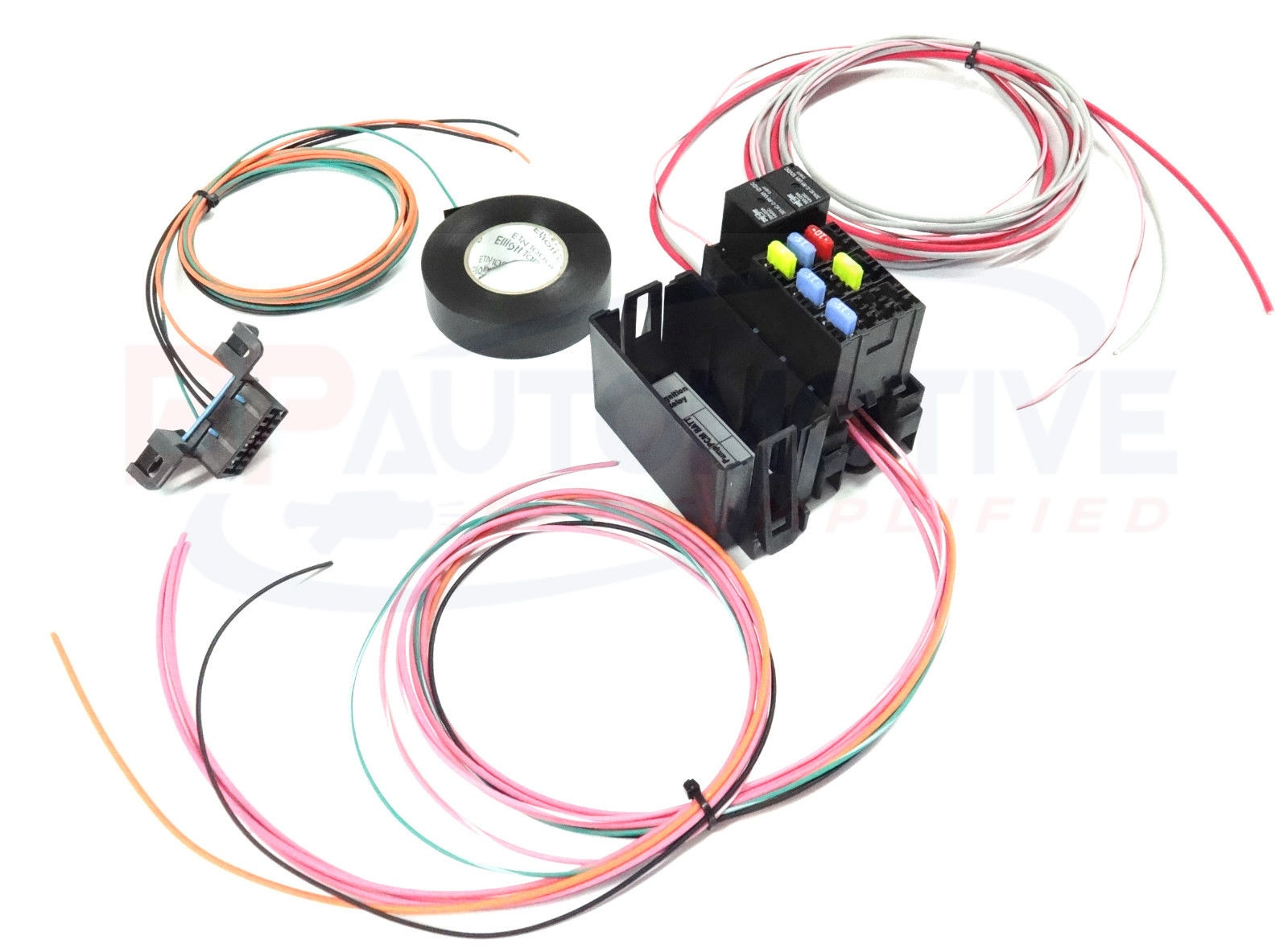 Ls1 Diy Wiring Harness Kit Just Another Diagram Blog Lsx Ls Swap Rework Fuse Block For Standalone Rh Ebay Com