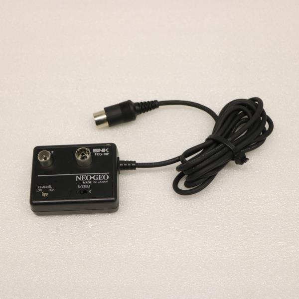 Details about JAPANESE SNK NEO GEO RF ADAPTER CONVERTER AERIAL TV CABLE  FCG-10P NEOGEO JP