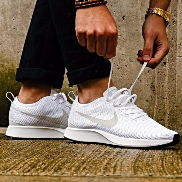 wholesale dealer 69645 0a5d0 Details about NIKE DUALTONE RACER White Size 6 7 8 9 10 11 12 Mens Shoes  918227-102 max air