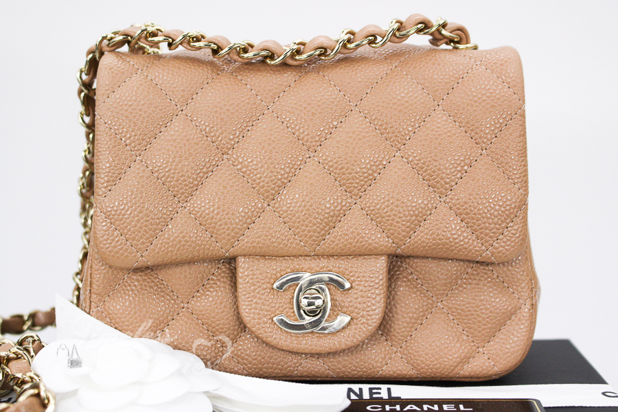 b0694d40fd4910 Chanel Mini Square Flap Bag 2018 | Stanford Center for Opportunity ...