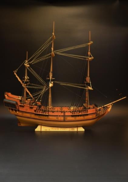 Details About Scale 1 48 Black Pearl 830 Mm 32 6 Wood Model Ship Kit