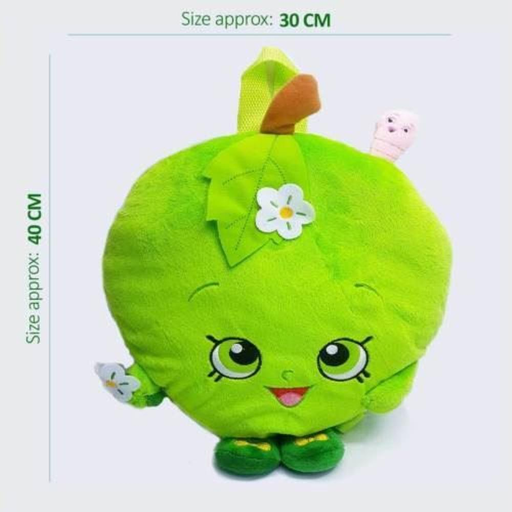 I Love Apple Childs Plush Boys Girls Coin Purse Wallet Money Pouch Kids Gifts