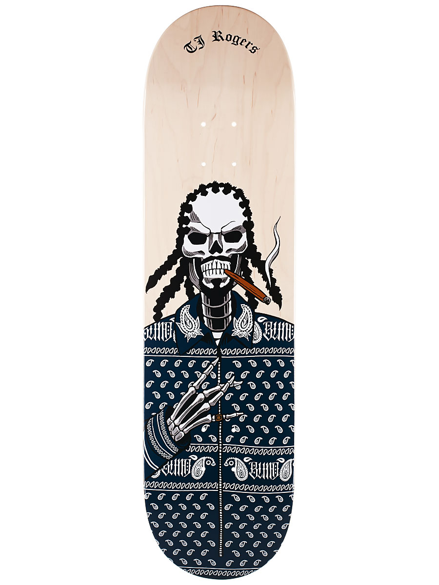 Blind Skateboard Deck Reaper TJ Rogers Veneer Colour 8.25 FREE GRIP