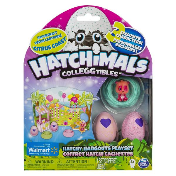 Details About Hatchimals Colleggtibles Hatchy Hangouts Playset Fabula Forest Walmart Exclusive