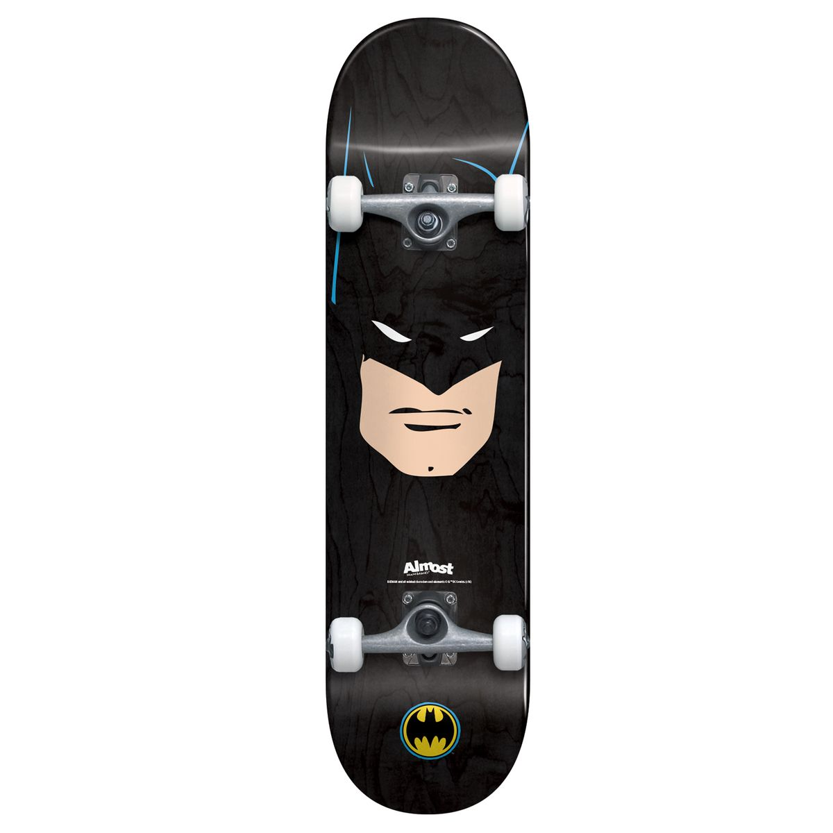 Almost x DC Comics Complete Skateboard Batman Face 7.75 FREE POST