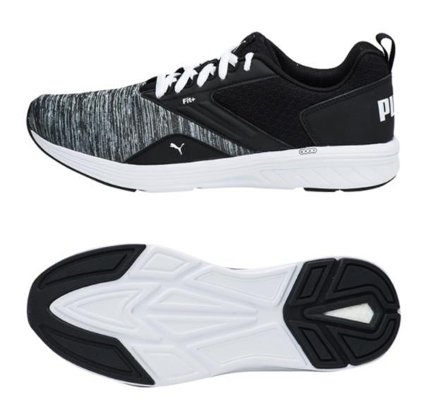 Puma Men Nrgy Comet Training Shoes Black Running Casual Sneakers