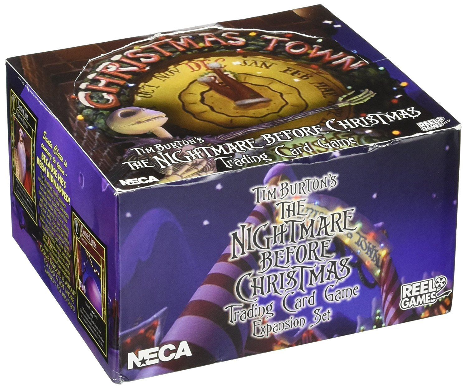 Neca Nightmare Before Christmas Christmas Town NBX Booster Box ...