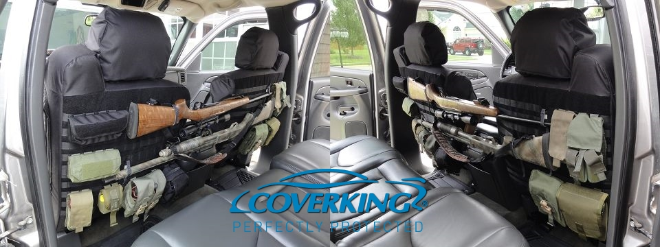 coverking tactical molle custom front and rear seat covers for toyota tundra ebay. Black Bedroom Furniture Sets. Home Design Ideas