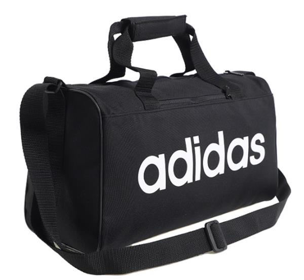 Adidas Linear Core X-Small Duffle Bags Running Black Soccer GYM Bag ... 11509f79c3fee
