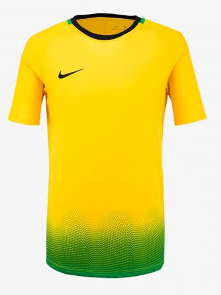 Nike Youth Dry Academy GX S S Top Soccer Yellow Kid Boy Tee Shirts ... 0a8ae5e5a3c3e