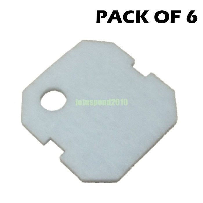 4PCS WHITE FINE REPLACEMENT FILTER PAD FOR EHEIM 2226 JEBAO 404 304