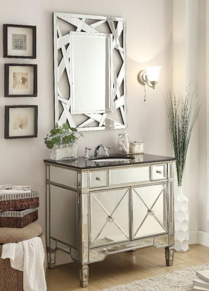 Details About Benton Collection Ashlyn French Bathroom Vanity Mirror Set YR 023G 36 2206 36