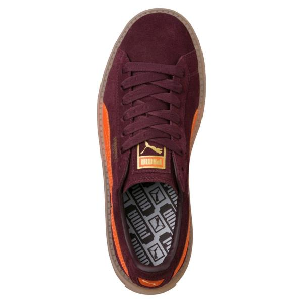 9f6fa35374ebbe ... Puma Platform Trace Block Sneakers - Burgundy Orange. Style  367057-01.  Color  Red Gender  Womens. Shipping Returns Authenticity